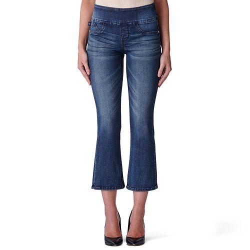 Women's Rock & Republic® Fever Midrise Flare-Leg Crop Jeans