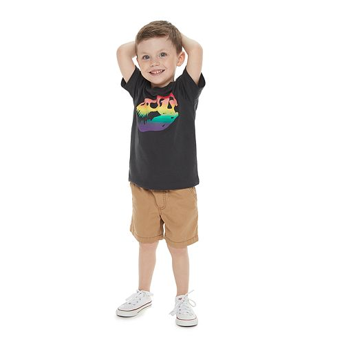 Toddler Boy Family Fun™ Dinosaur Rainbow Pride Graphic Tee