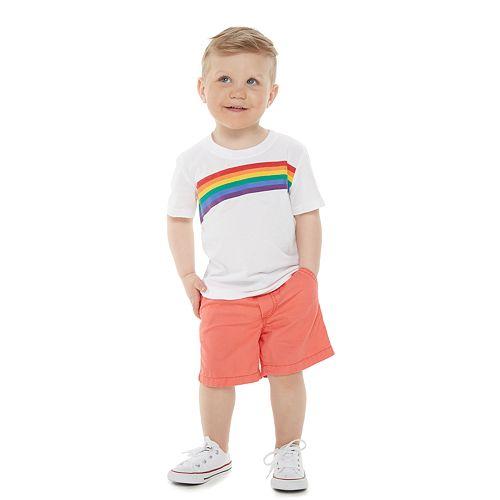 Toddler Boy Family Fun™ Rainbow Pride Graphic Tee