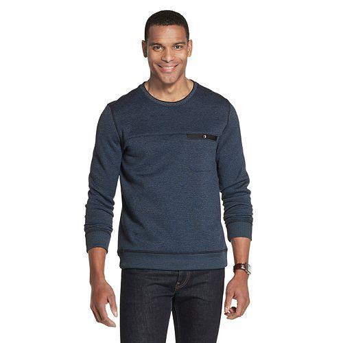 Men's Van Heusen Never Tuck Slim-Fit Fleece Crewneck Pullover