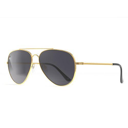 Unisex PRIVÉ REVAUX The Cali 59mm Polarized Aviator Sunglasses