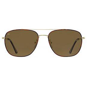 Unisex PRIVÉ REVAUX The Floridian 57mm Polarized Aviator Sunglasses