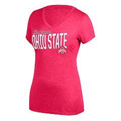 reputable site 00b9a e0c7d Women s Ohio State Buckeyes Dual Tee