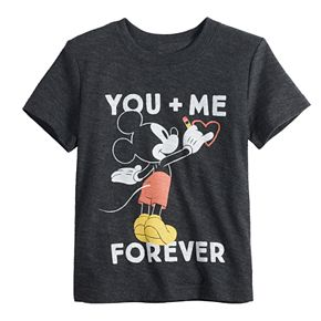 "Disney's Mickey Mouse Baby Boy ""You + Me Forever"" Graphic Tee by Jumping Beans®"
