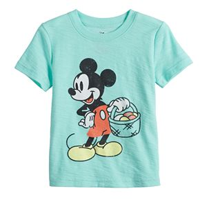 Disney's Mickey Mouse Baby Boy Easter Basket Slubbed Graphic Tee by Jumping Beans®