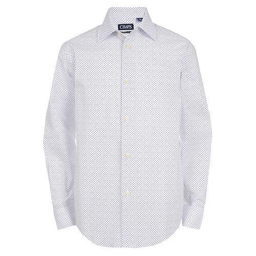 Boys 8-20 Chaps Gingham Button-Down Shirt