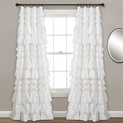 Lush Decor Kemmy Window Curtain - 52'' x 84''
