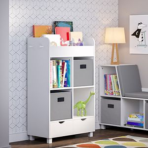 RiverRidge Home Book Nook Collection Kid's Cubby Storage Cabinet