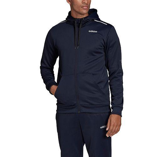 adidas fleece zip up hoodie
