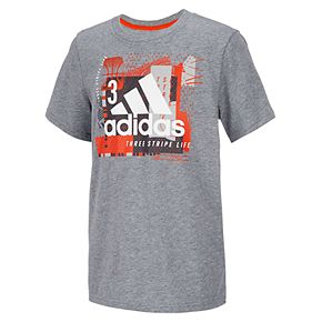 Boys 4-7x adidas Collage Mantra Graphic Tee
