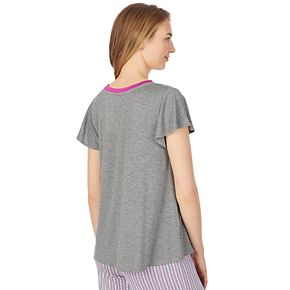 Women's Layla Contrast Trim Sleep Tee