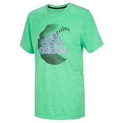 a6d6858e14ad Boys Green Adidas Graphic T-Shirts Kids Tops   Tees - Tops