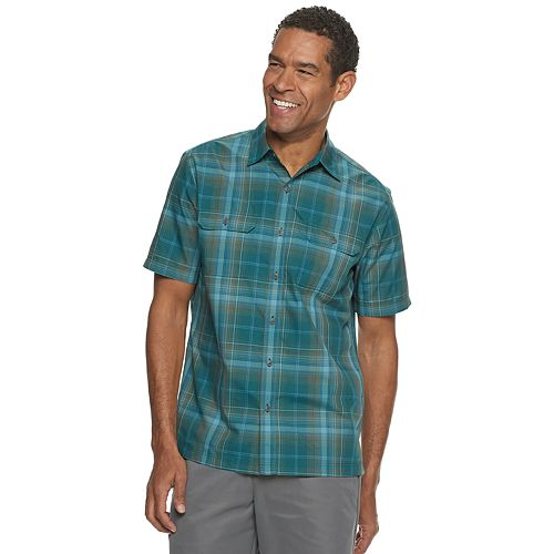 Men's Croft & Barrow® Quick-Dry Performance Button-Down Shirt
