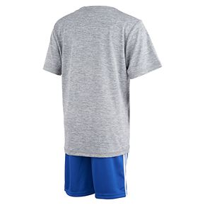 Boys 4-7x adidas Logo Graphic Tee & Shorts Set