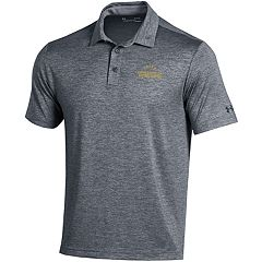 Men's Under Armour Notre Dame Fighting Irish Heathered Polo