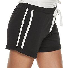 Juniors' SO® Striped Cozy Shorts