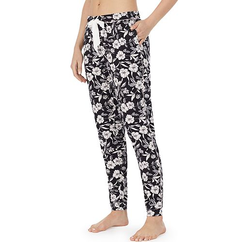 Women's Layla Floral Banded-Bottom Pajama Pants