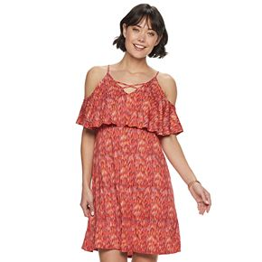 Women's Apt. 9® Criss Cross Cold Shoulder Dress