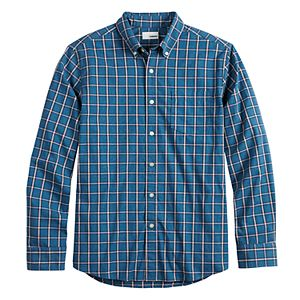 Men's SONOMA Goods for Life® Perfect Length Button-Down Shirt
