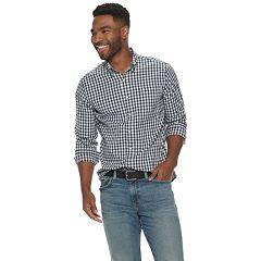 9aaf75bd33e6 Men's SONOMA Goods for Life™ Flexwear Stretch Poplin Button-Down Shirt