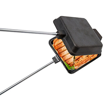 Wembley Cast Iron Campfire Sandwich Cooker
