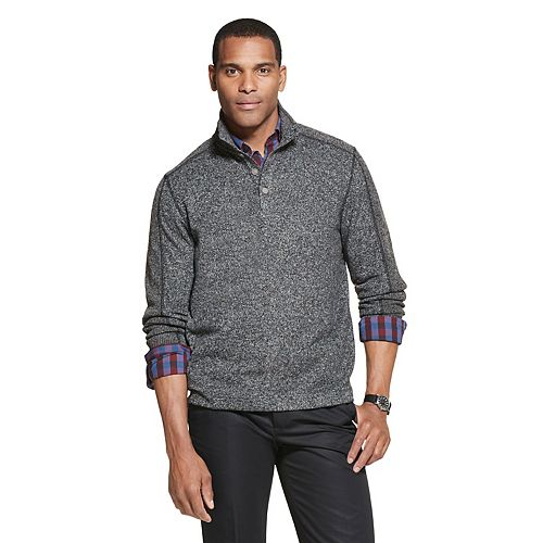 Men's Van Heusen Flex Sweater Fleece Mockneck