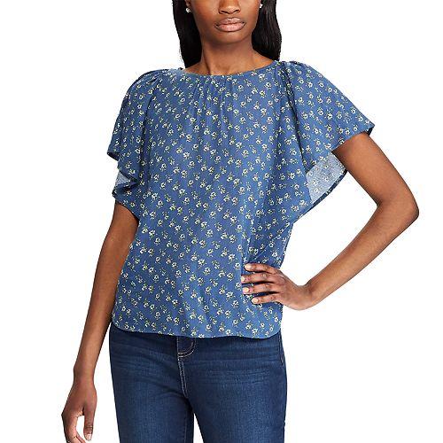 Women's Chaps Short Sleeve Blouse