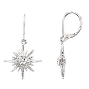 Simply Vera Vera Wang Starburst Drop Earrings