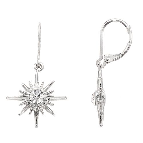 Simply Vera Vera Wang Starburst Drop Earrings