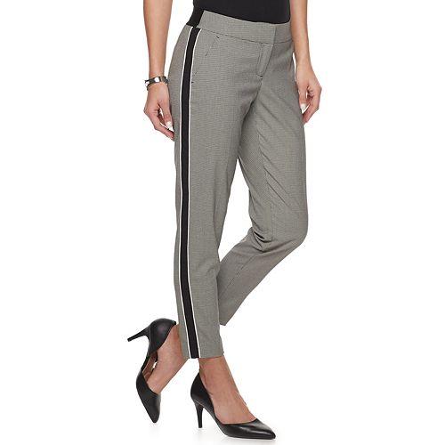 Women's Apt. 9® Side Piecing Ankle Trouser