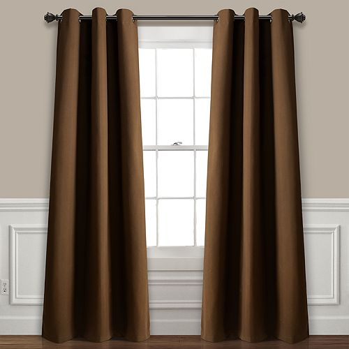 Lush Decor 2-pack Absolute Blackout Window Curtains