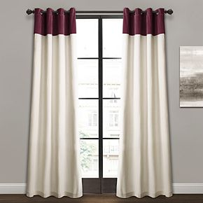 Lush Decor 2-pack Milo Linen Window Curtains - 52'' x 84''