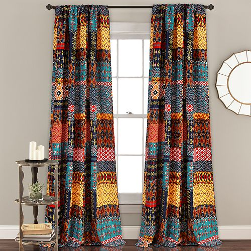 Lush Decor 2-pack Misha Room Darkening Window Curtains - 52'' x 84''