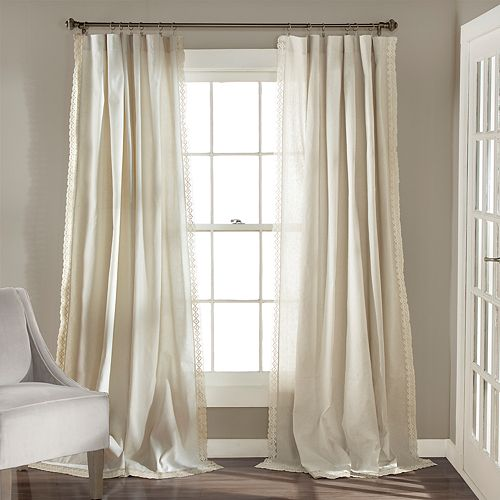 Lush Decor 2-pack Rosalie Window Curtains