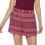 Women's Apt. 9® Challis Soft Shorts