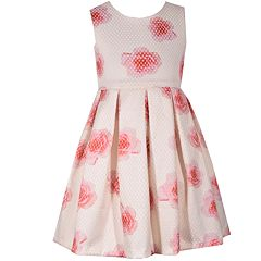 Girls 7-16 Bonnie Jean Sleeveless Floral Dress
