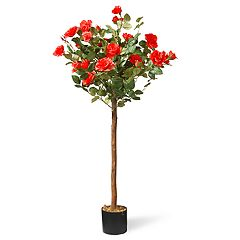 National Christmas Tree Company 4' Artificial Rose Tree