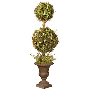 """National Christmas Tree Company 45"""" Spring Artificial Topiary Tree"""