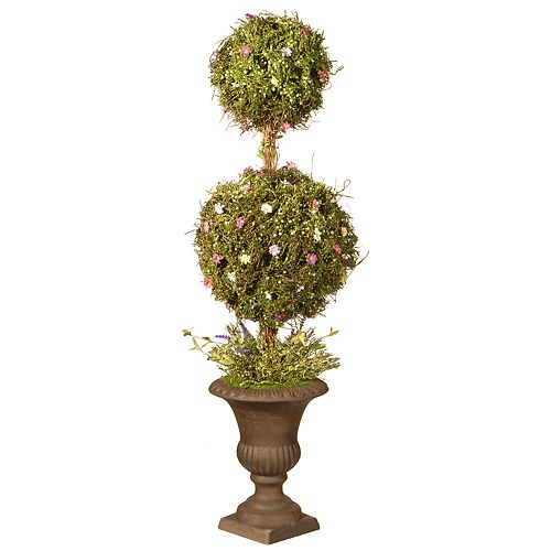 "National Christmas Tree Company 45"" Spring Artificial Topiary Tree"