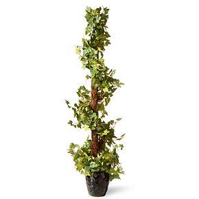 "National Christmas Tree Company 39"" Artificial Ivy Topiary Tree"