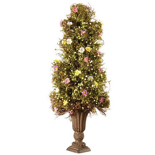"National Christmas Tree Company 24"" Artificial Spring Tree"