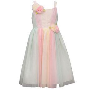 Girls 7-16 Bonnie Jean Rainbow Tulle Midi Dress