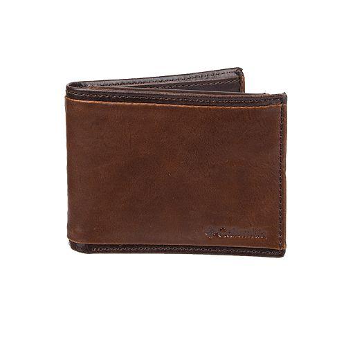 Men's Columbia Security Passcase Wallet
