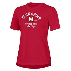 Women's Under Armour Maryland Terrapins Performance Tee