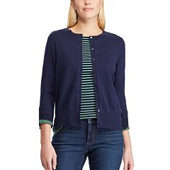 98ae7311fe Women s Chaps Ribbed Cardigan
