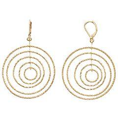 Simply Vera Vera Wang Orbital Drop Earrings