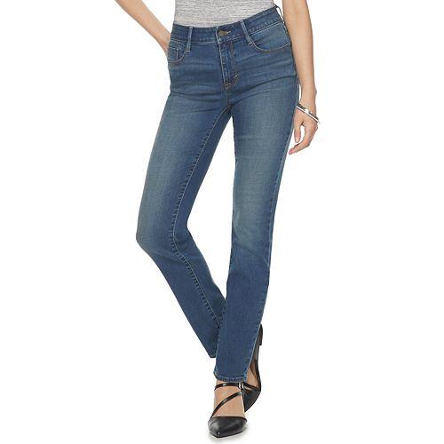 Women's Apt. 9® High-Rise Straight Jeans