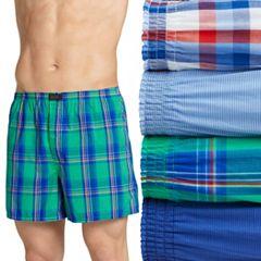 Men's Jockey® 4-pack ActiveBlend® Woven Boxers