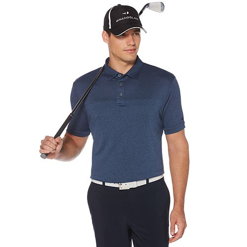 Big & Tall Grand Slam DriFlow Colorblock Performance Golf Polo
