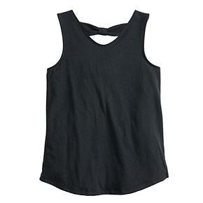 Girls 7-16 & Plus Size SO® Bow Back Tank